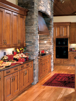 Granite and Stone Fireplaces and Countertops - Kitchen remodeling and new construction