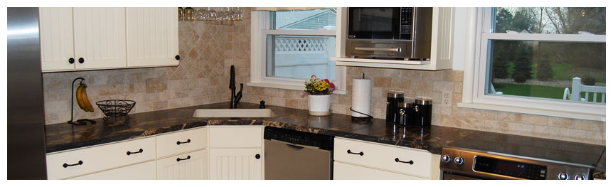 Cleveland Contractor - Kitchens, Baths, Additions, Basements, Offices, Tile & Stonework, Countertops & Cabinets