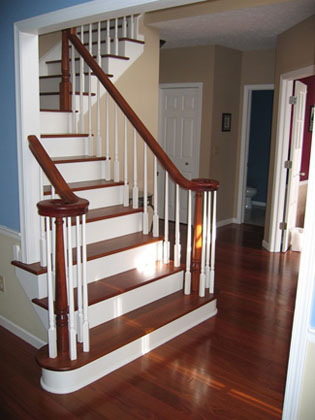 Staircase repair, replacement and new construction Ohio