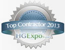 Top Contractor 2013 Home and Garden Show - HG Expo